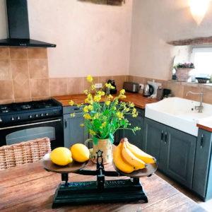 Intérieur de cuisine en Bourgogne